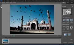 How Picture Stack works in Adobe Photoshop Elements - Guided Edit - Step2